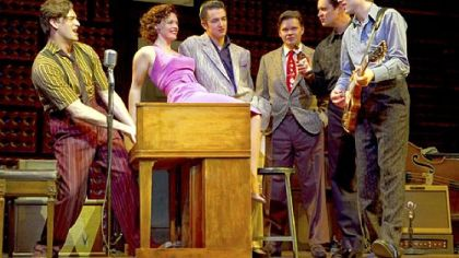 The original Broadway company of &quot;Million Dollar Quartet,&quot; playing at the Benedum through Sunday.