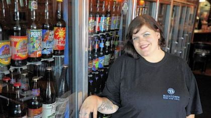 Tera Bevilacqua of Bocktown Beer and Grill in Robinson.