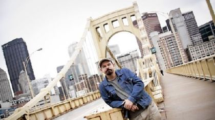Flemish writer Paul Mennes spent two months in Pittsburgh this summer as part of a cultural exchange.