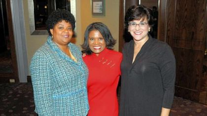 Deborah Fidel, Diane Richards and Rev. B. DeNeice Welch.