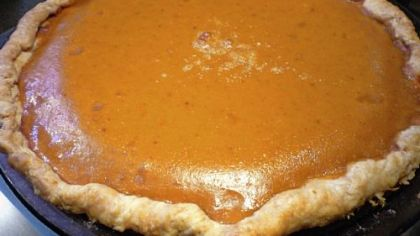 "Pumpkin Pie from ""Martha Stewart's New Pies & Tarts."""
