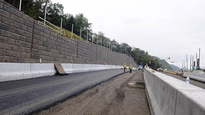 PennDOT is expected to open the new southbound (inbound) lanes of Route 28 that will bypass the 40th Street Bridge intersection at Millvale. It will open this weekend and will require new traffic patterns in the area.