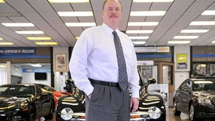 Tim Colussy, co-owner of Colussy Chevrolet in Bridgeville.