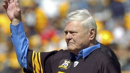 Jack Butler, who was recognized at a halftime ceremony of a Steelers game in September 2007, retired after nine seasons in 1959 with 52 career interceptions, second most in the NFL at the time.