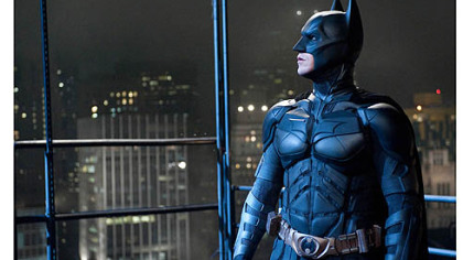 "Christian Bale returns as Batman in ""The Dark Knight Rises,"" the final film in Christopher Nolan's trilogy."