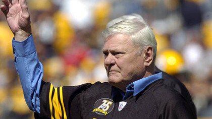 Former Steelers defensive back Jack Butler was recognized as a member of the team's 75th anniversary squad in 2007.